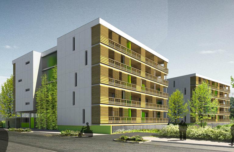 appartement neuf begles 33130 immobilier neuf begles exterra. Black Bedroom Furniture Sets. Home Design Ideas